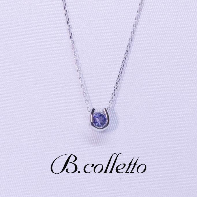 B.colletto タンザナイトネックレス