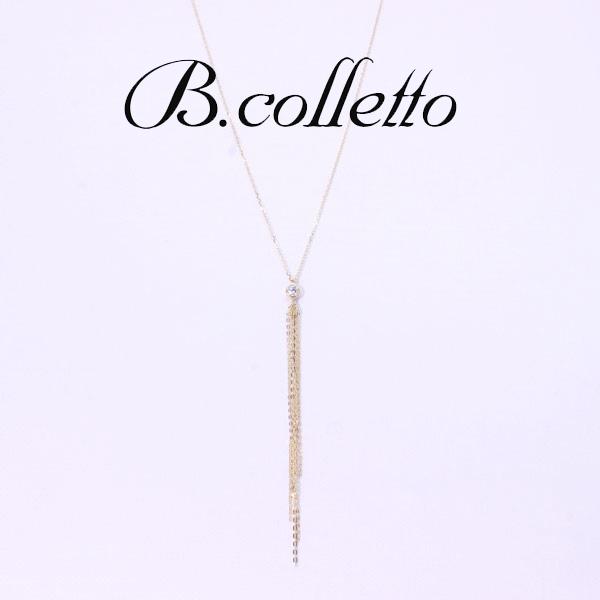 B.colletto ダイヤロングネックレス