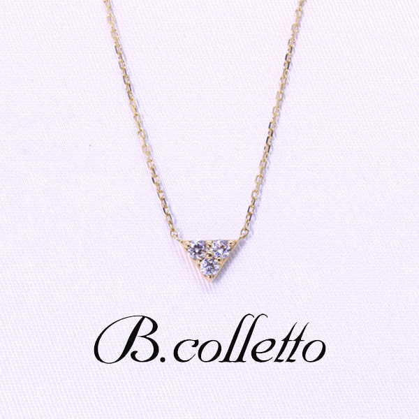 B.colletto トライアングルネックレス