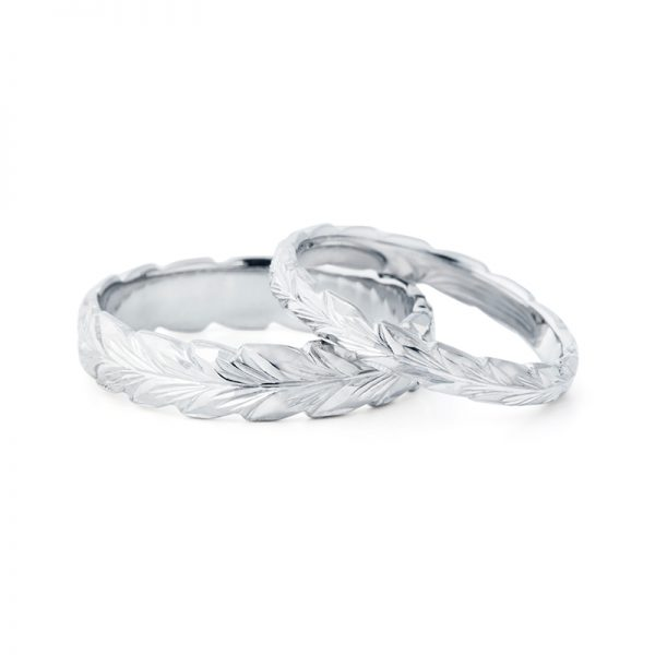 ハワイアンジュエリーの結婚指輪はブローチで揃う