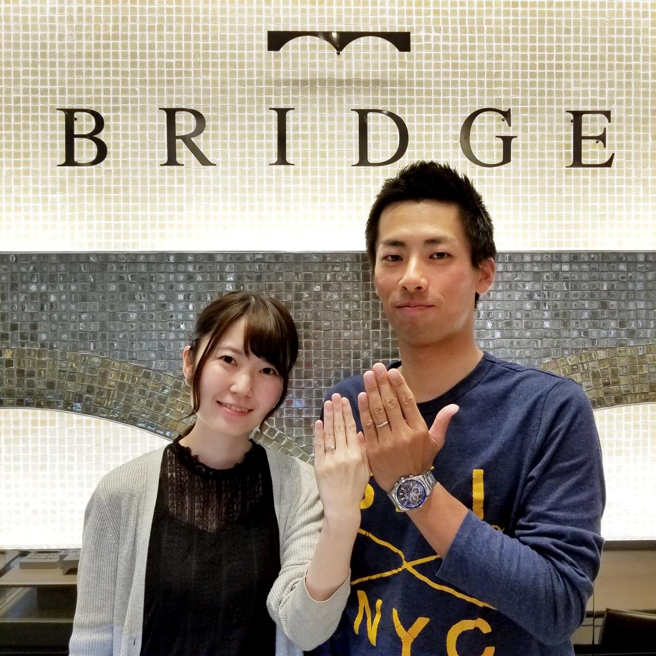 【BRIDGE】~未来への船出~を選んで下さいましたS.K様&M.K様