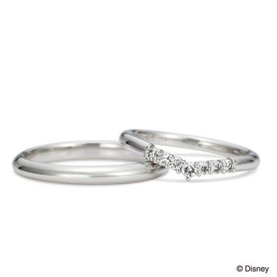 K.unoディズニープリンセス白雪姫のThe princess of the pure heart新潟でかわいい結婚指輪婚約指輪マリッジリングエンゲージリングを探すならBROOCHブローチ