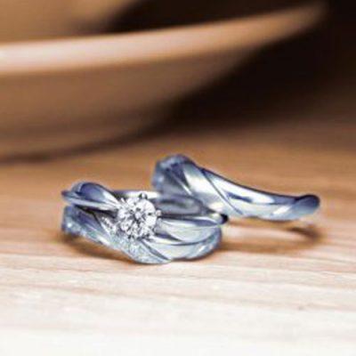 新潟LAPAGEラパージュ結婚指輪マリッジリング婚約指輪エンゲージリングBROOCHブローチ花フラワー