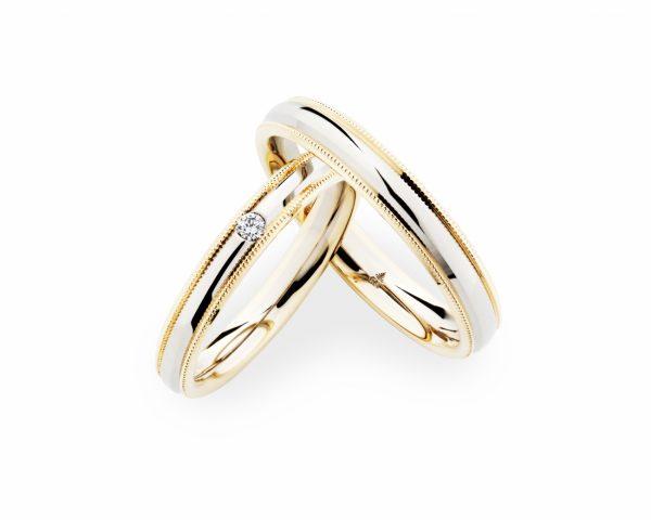 新潟市のブローチで選ぶドイツ製の鍛造の結婚指輪はクリスチャンバウアーがおすすめです。