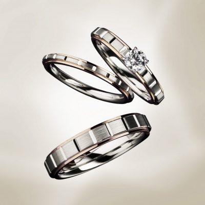 EuroWeddingBand曲がらない丈夫でかっこいい人と被らない指輪結婚指輪婚約指輪鍛造製法により強度が高いため安心して生涯着けていただくことが出来ます