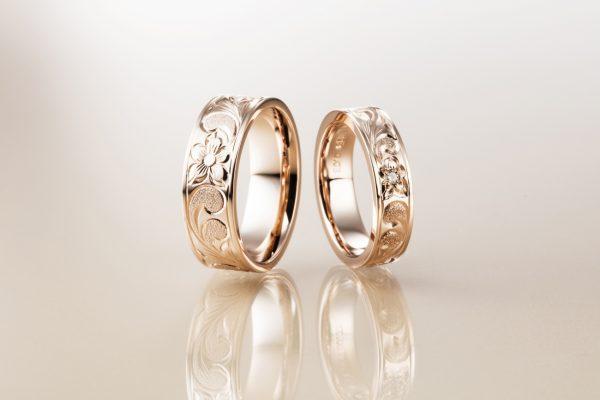 カッコよくておしゃれな結婚指輪はハワイアンジュエリーのMAKANA