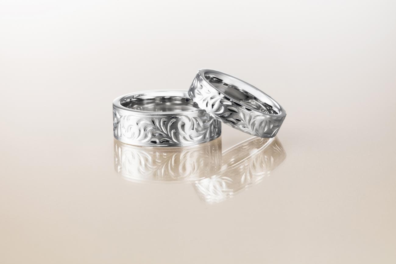 オシャレでカッコいい結婚指輪ならハワイアンジュエリーのMAKANA