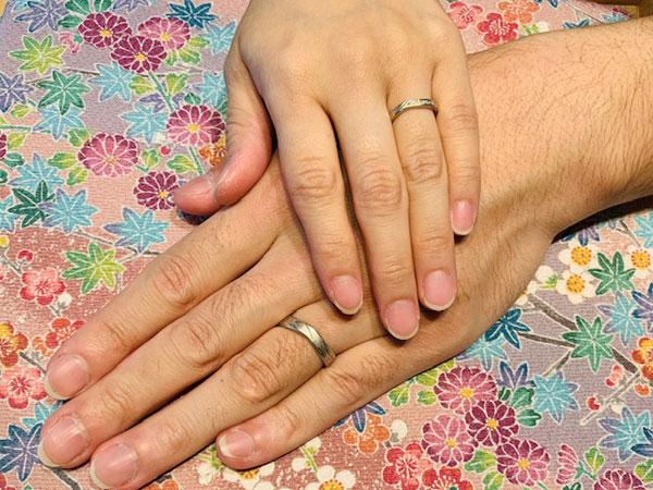 たまたま出会った杢目金屋の結婚指輪にひとめ惚れ!!