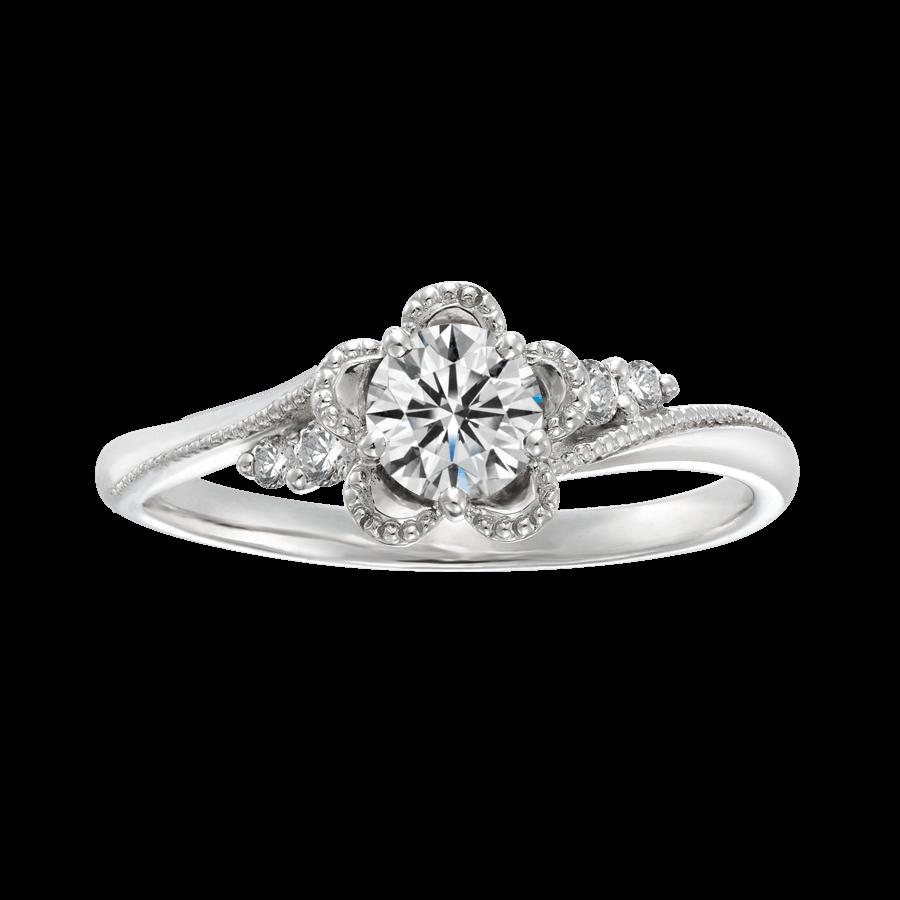 お花 お花モチーフ 婚約指輪 指輪 マリアージュ BROOCH