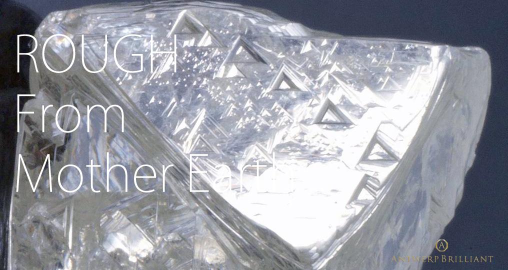 新潟市のブローチではボツワナ産の最高品質ダイヤモンドを使用