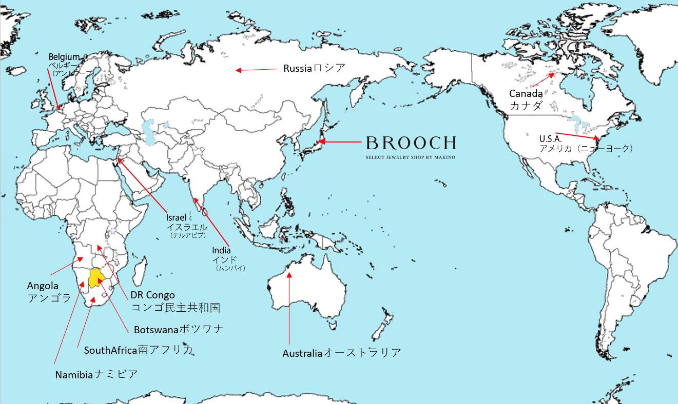 世界地図 大陸の名前