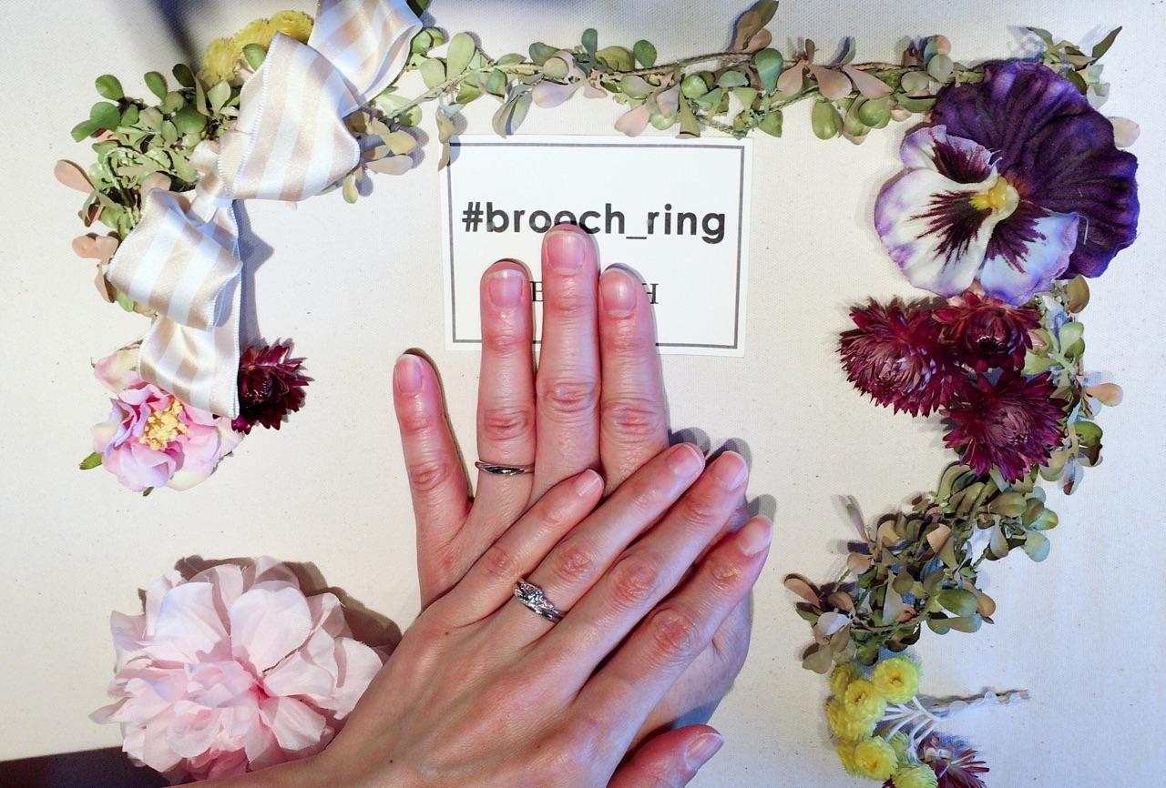 寝起きにサプライズ!結婚指輪はシンプル可愛いInfinityLoveのジャスミンで!