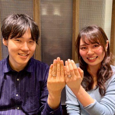 NIWAKA俄ニワカにわか初桜ういざくら永遠に想いが巡る桜に意味をこめてエンゲージリングマリッジリング結婚指輪婚約指輪