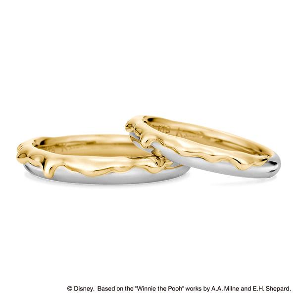 新潟結婚指輪ディズニーケイウノK.unoくまのプーさんBROOCHブローチ