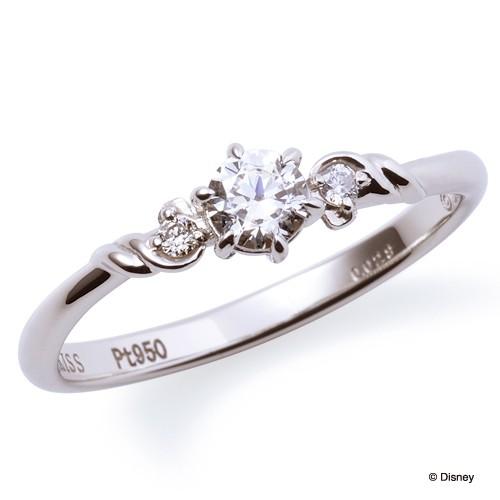 ディズニープリンセスの中でも有名なアリエルの可愛い結婚指輪
