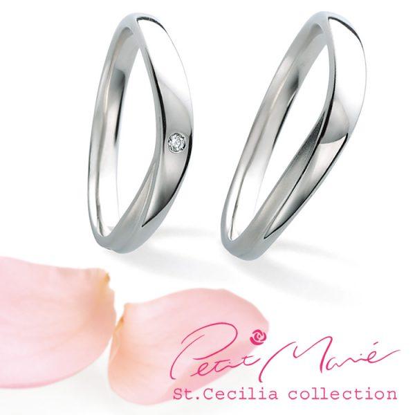 シンプルで着けやすく丈夫な結婚指輪はプチマリエがおすすめです。