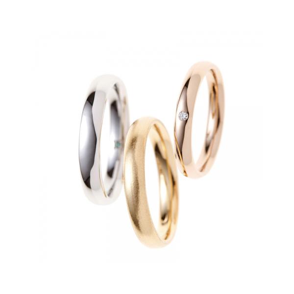 BRIDGE幸せのカタチ選べる色がかわいいどのからーを結婚指輪に選ぶ?プラチナよゴールド