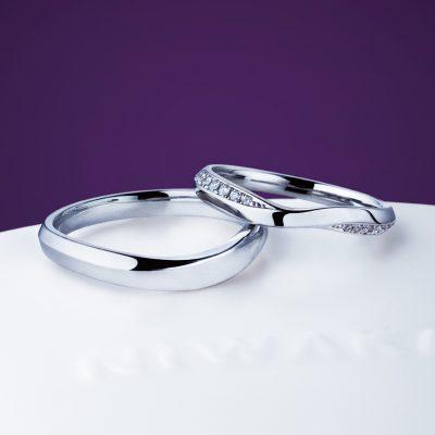 新潟で結婚する花嫁に人気のにわかの指輪は茜雲