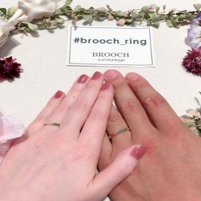 新潟結婚指輪オレッキオORECCHIOかっこいいクールアンティーク指輪BROOCHブローチ