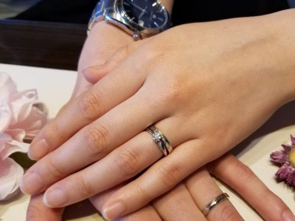 俄のご婚約指輪を持って京都でドキドキサプライズプロポーズ!ご結婚指輪も日本の伝統技術が光る杢目金屋で決まり!②