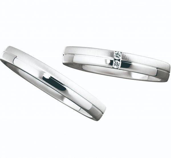 EuroWeddingBando ユーロウェディングバンド 鍛造 丈夫な指輪 曲がりにくい指輪 ゴールドマイスター 天然 ダイヤモンド 着け心地が良い 結婚指輪 マリッジリング ウエディングバンド 内甲丸仕上げ 全周デザイン かっこいい オシャレ 人と被らない ドイツ ドイツ製