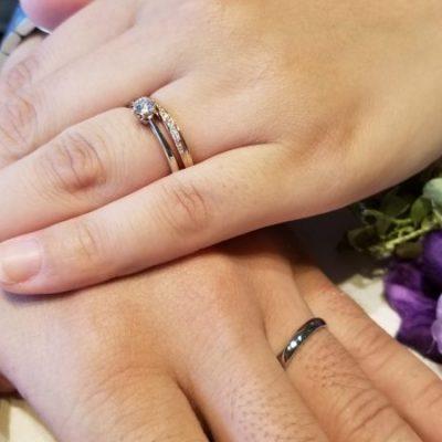 niigataニイガタ新潟結婚婚約マリッジエンゲージ指輪リングダイヤモンドラパージュLAPAGEインフィニティラブ