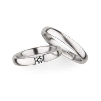 ドイツ生まれの鍛造製法による丈夫でかっこいい結婚指輪マリッジリング