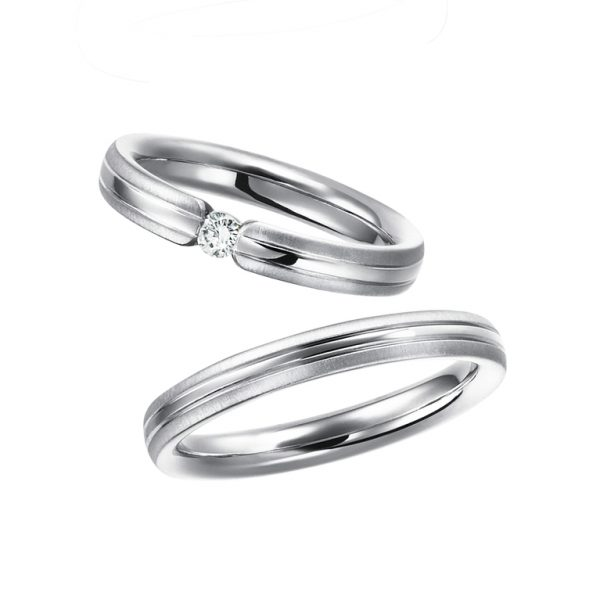 新潟でフラージャコーの結婚指輪を選ぶならブローチ