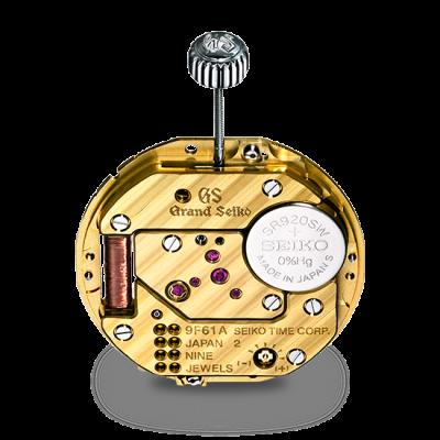 グランドセイコーの時計のムーブメントは高性能な9Fクオーツ