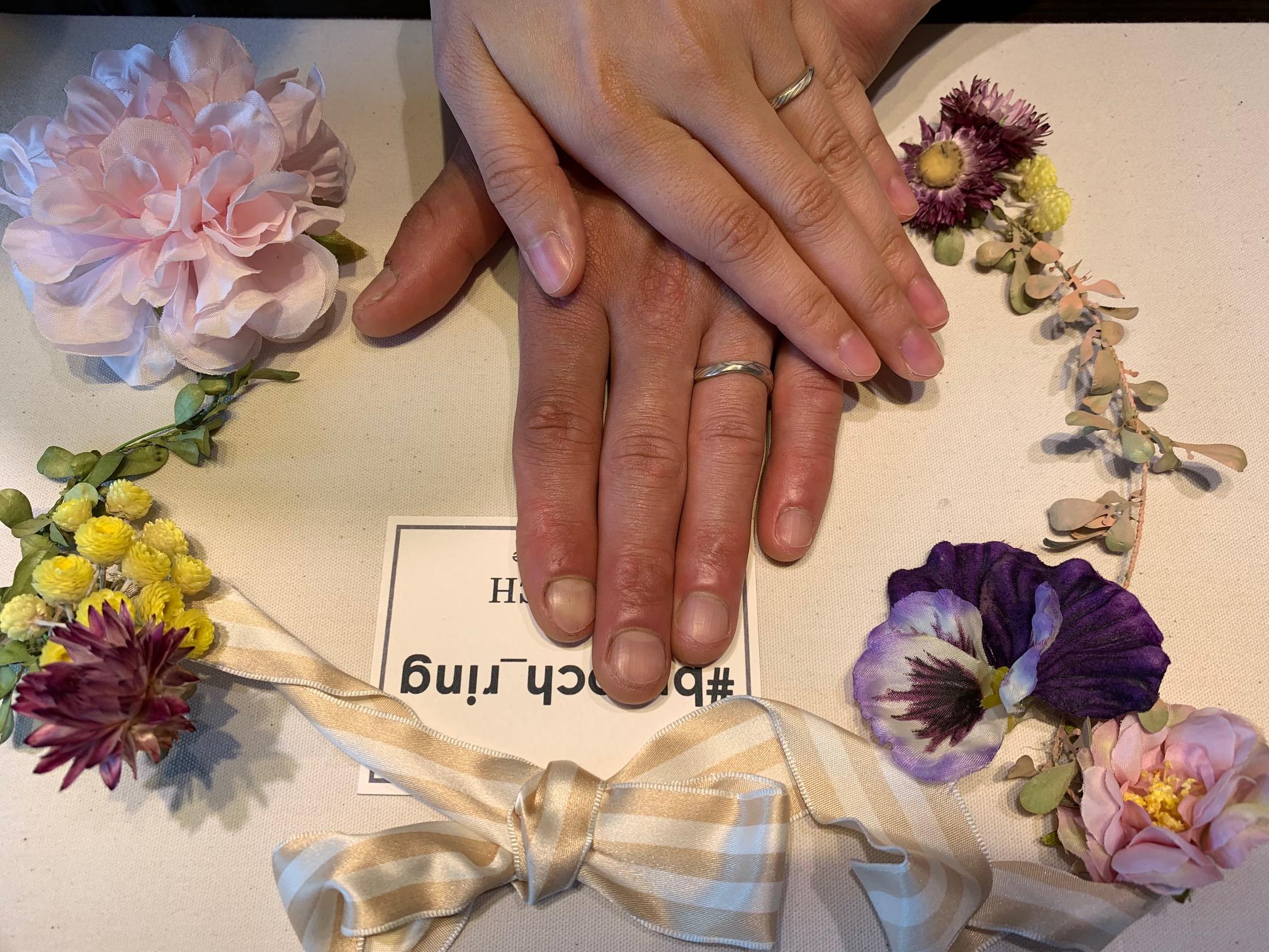 mokumeganeya杢目金屋BROOCHブローチ新潟結婚婚約マリッジエンゲージ指輪リングブライダル花嫁恋風こいかぜ和風