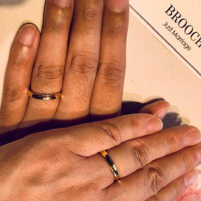 新潟結婚婚約マリッジエンゲージユーロウエディングバンドドイツブランド鍛造強度側面刻印
