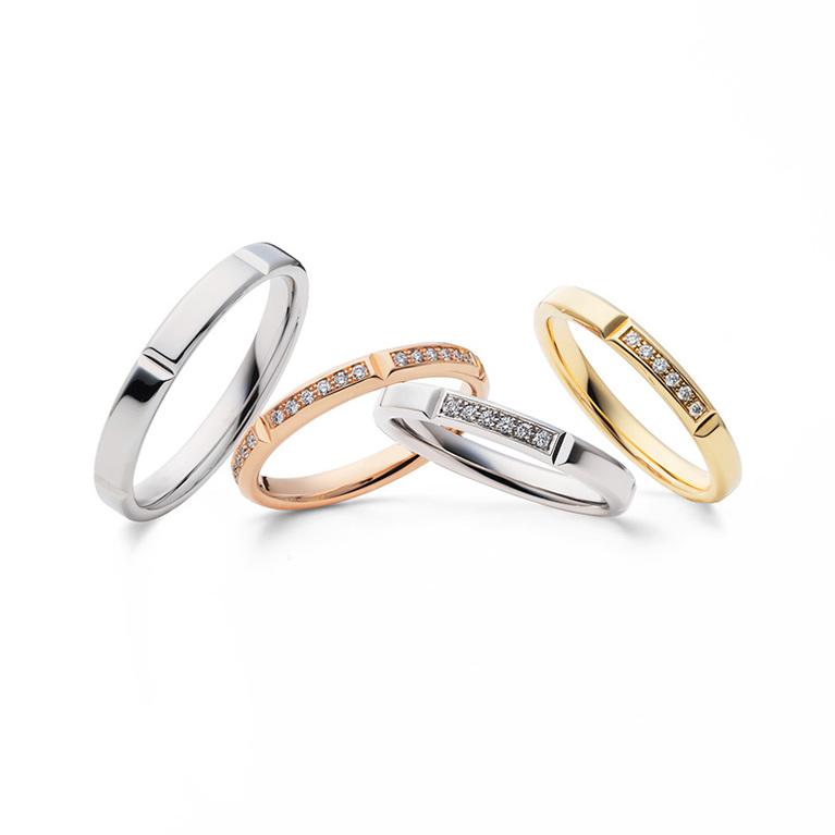 新潟結婚婚約マリッジ鍛造リング指輪BROOCHブローチフラージャコーFURRER-JACOTスイスメイドチョコレート