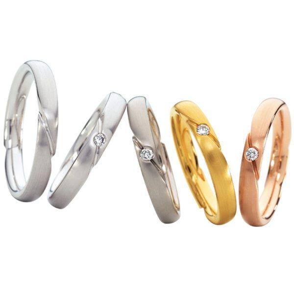 新潟結婚婚約マリッジ鍛造リング指輪BROOCHブローチフラージャコーFURRER-JACOTスイスメイドストリングオブリック