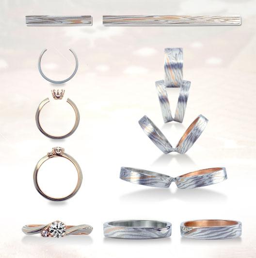 新潟市のブローチで選ぶ婚約指輪と結婚指輪のおすすめブランドはもくめがねや