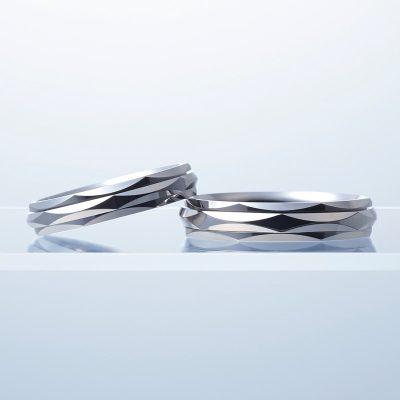 新潟 結婚指輪 婚約指輪 マリッジリング エンゲージリング シンプル スタイリッシュ カッコいい キレイ エレガント N.Y.NIWAKA ニューヨークニワカ 俄 BROOCH ブローチ リューズ LYUZ