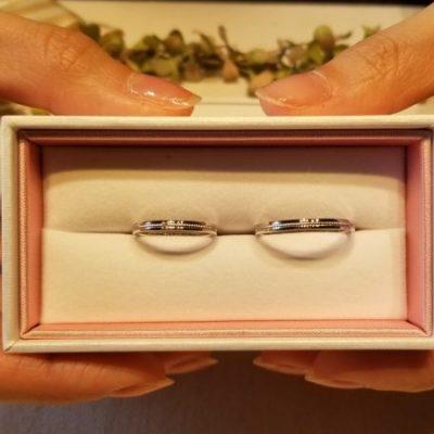 新潟結婚指輪リングマリッジBROOCHブローチシチズンノクル