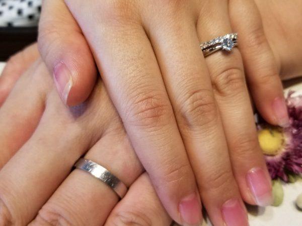 花嫁のお母様から受け継いだダイヤモンドを使ってご婚約指輪をリフォーム