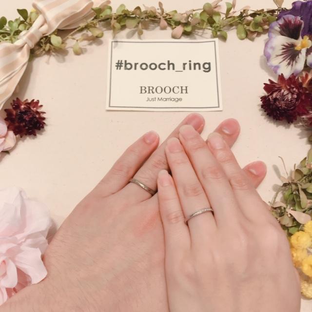 新潟結婚婚約マリッジエンゲージリング指輪オレッキオアンティークBROOCHブローチカンパネラコンチェルト