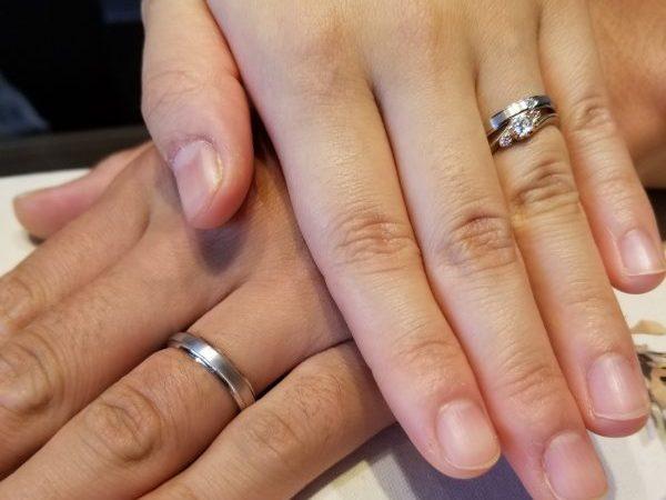 指輪の作りの工程に惹かれた。クリスチャンバウアーのマリッジリング!!