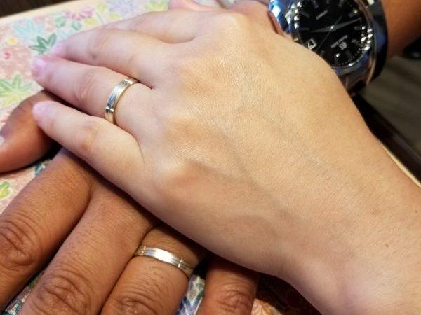 日本の「和」の心、伝統が好きで決めた「杢目金屋」のご結婚指輪
