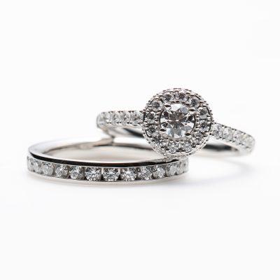 Star Ray Wedding Band Ring