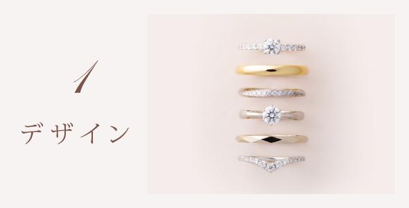 結婚指輪・婚約指輪デザイン
