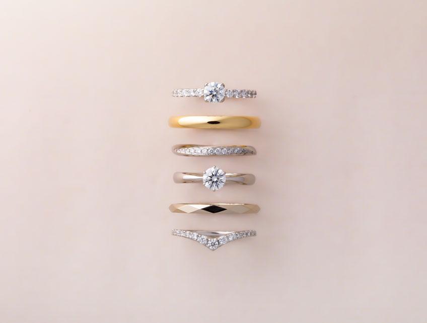 新潟の結婚指輪・婚約指輪BROOCHで特別なリングを