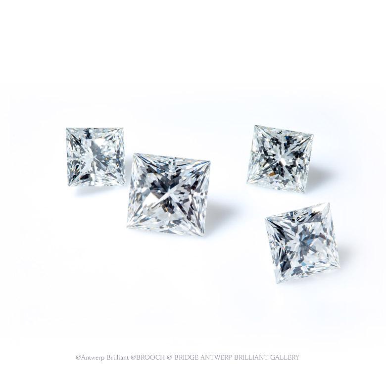 四角のダイヤモンド・トリプルエクセレント・プリンセスカット