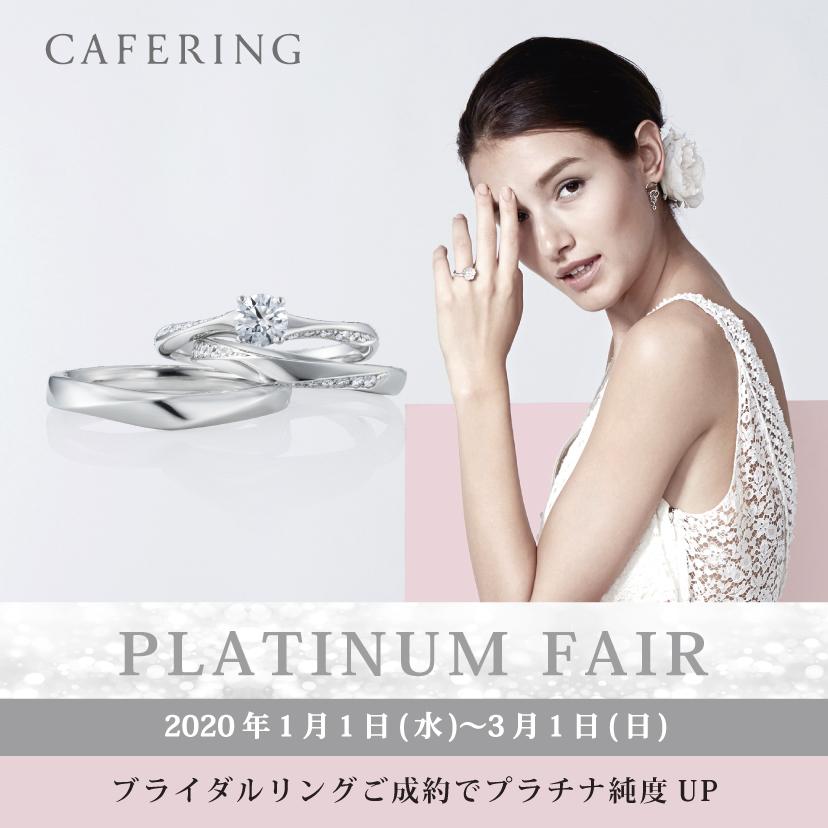 CAFE RING PLATINUM FAIR 2020