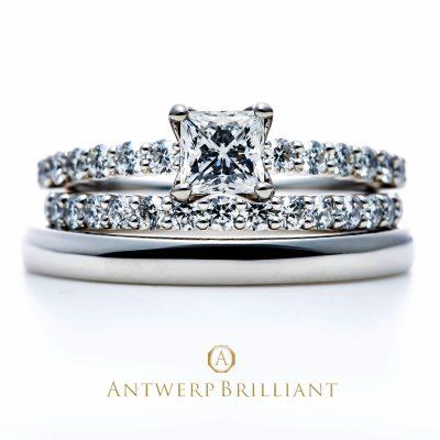 ダイヤモンドが美しいディーライン