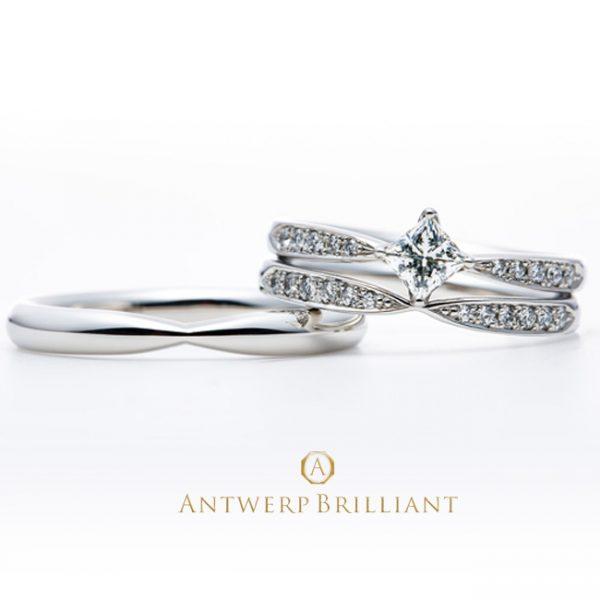 新潟で結婚指輪を選ぶならブローチ
