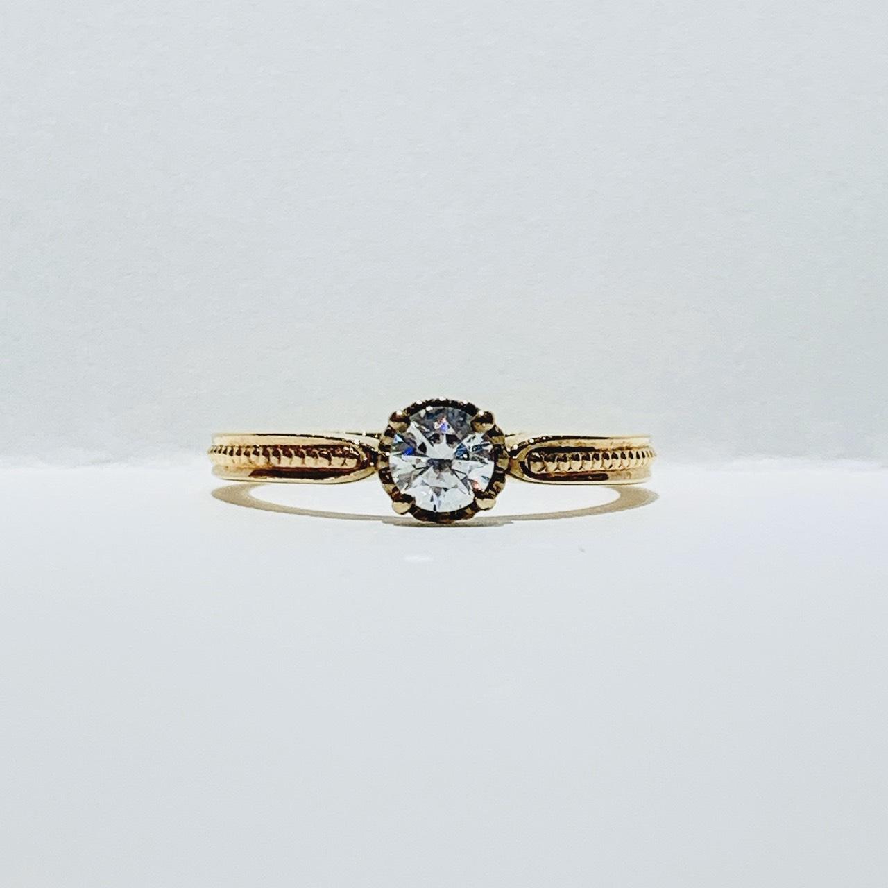 BROOCH 婚約指輪 エンゲージリング アンティーク調デザイン