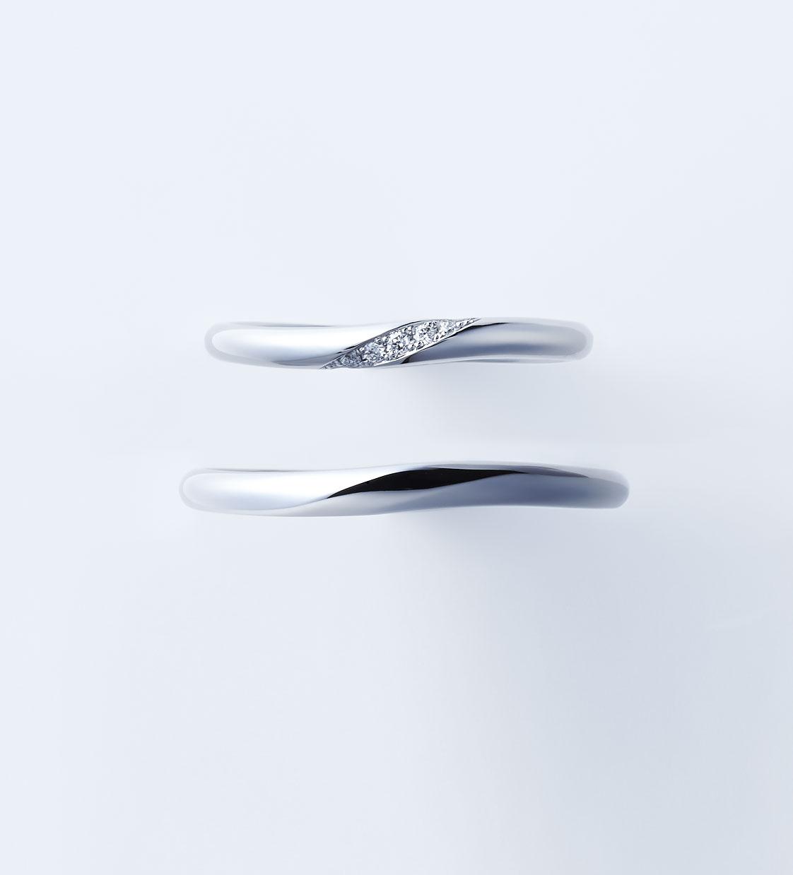 新潟 結婚指輪 婚約指輪 マリッジリング エンゲージリング サプライズ プロポーズ ウェディング NIWAKA 俄 ニワカ にわか ことのは シンプル 安い かわいい