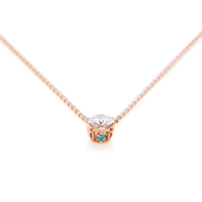 ANTWERP BRILLIANTのネックレスプリンセスマリーシンプルで着けやすい婚約ネックレスや記念日にオススメ